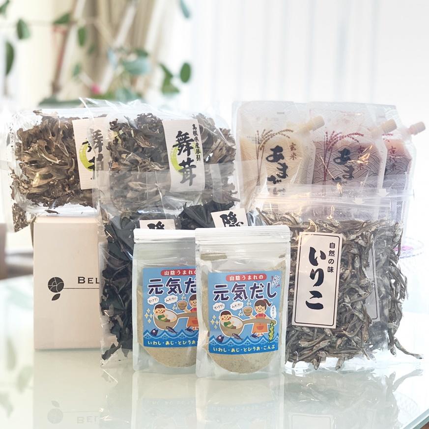 オーガニックフード スーパーフード 日本伝統 いりこ あまざけ だし あらめ 古代米 玄米 にぼし 乾燥舞茸