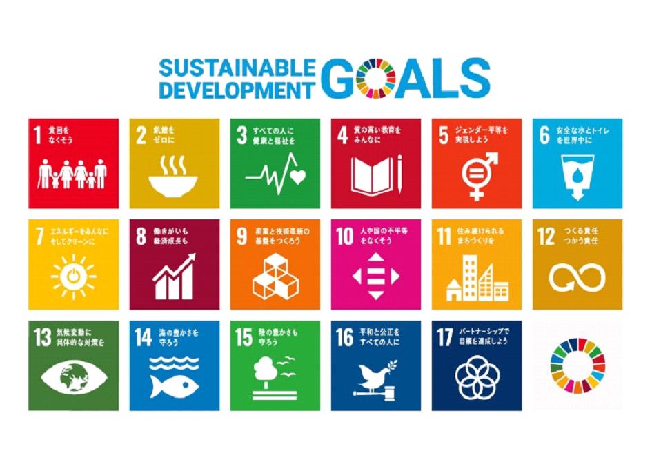 Belle Bio Marche SDGs(持続可能な開発目標)17の目標